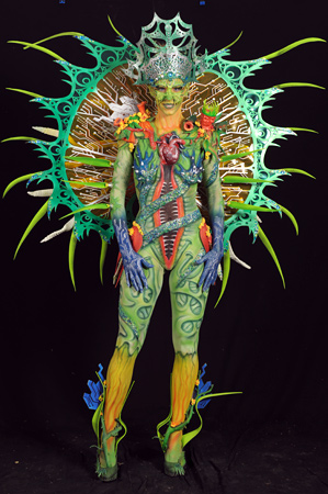 Special effects body painting winner 2014