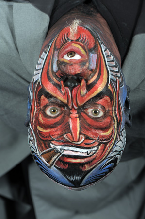Face painting winner