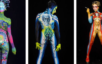 Stunning Photos From the World Body Painting Festival Awards