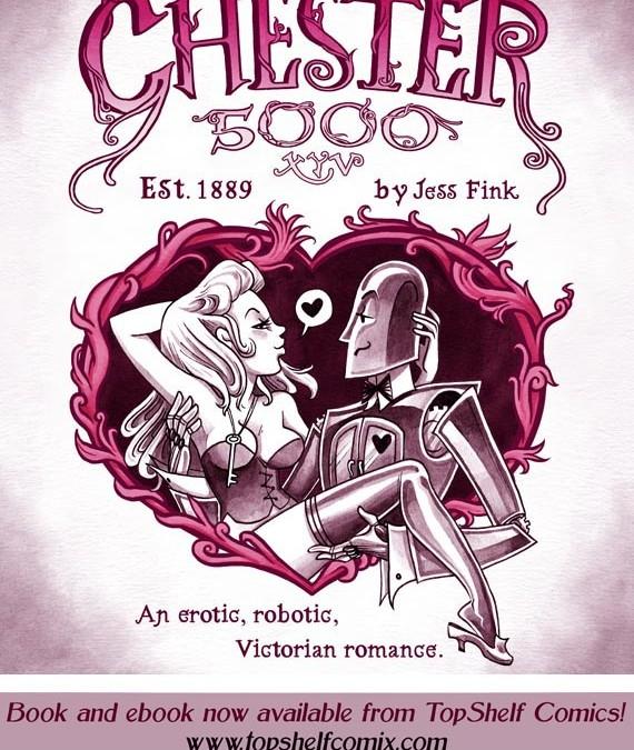 Steampunk Erotic Robot Comics: Every Bit As Amazing As You Imagine