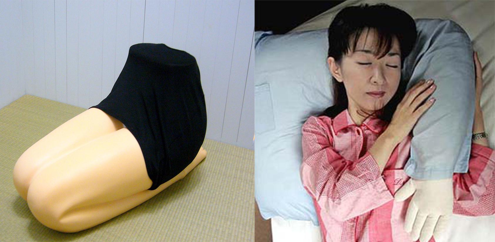 boyfriend arm pillow, hizamakura lap pillow, japan, love industry, pillows